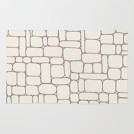 Stone Wall Drawing #3 Rug