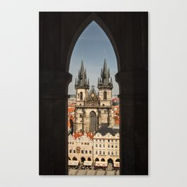 The Tyn Church Canvas Print