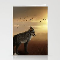 skyfall Stationery Cards featuring Skyfall by BlueHunter