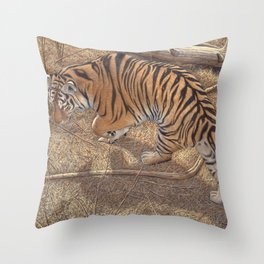 Under The Pines Throw Pillow