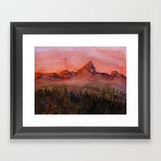 Fictional Landscape I Framed Art Print