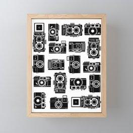 Yashica bundle Camera Framed Mini Art Print
