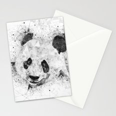 It's all about the Pandas - Fractal Panda Art Stationery Cards