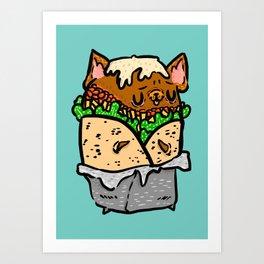 Buburrito Art Print