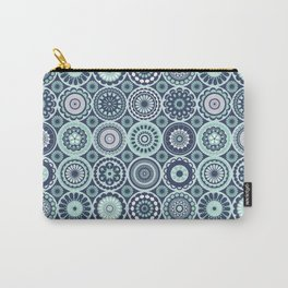 Moroccan Floral Carry-All Pouch