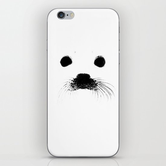 Seal your face iPhone & iPod Skin