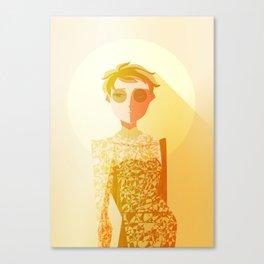 HQ!!: Golden Moon Canvas Print