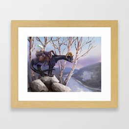 Ben & Dagon Framed Art Print
