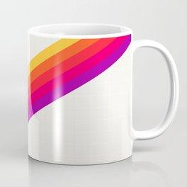VHS Rainbow 80s Video Tape Coffee Mug