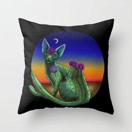 Catcus Throw Pillow