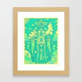 eco warrior Framed Art Print