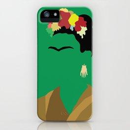 Frida Minimalist iPhone Case