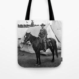 Calamity Jane on Horseback - 1901 Tote Bag