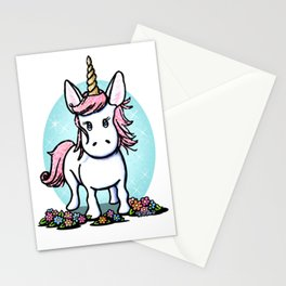 KiniArt Unicorn Stationery Cards