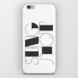 Sling Shot Lettering iPhone Skin