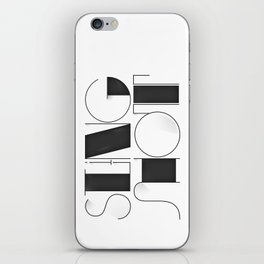 Sling Shot Lettering iPhone Skin