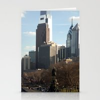 philadelphia Stationery Cards featuring Philadelphia by Kristi Jacobsen Photography