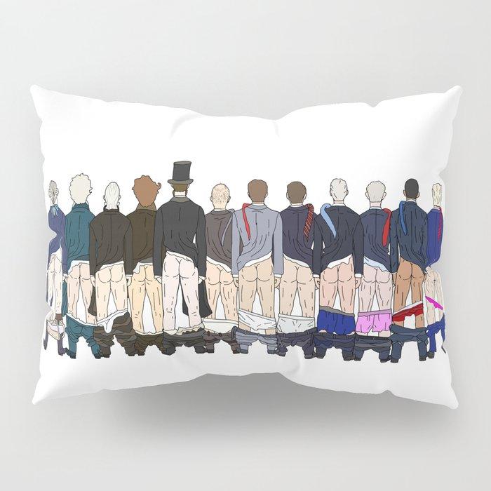 President Butts LV Pillow Sham