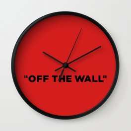 Vans off the wall Wall Clock