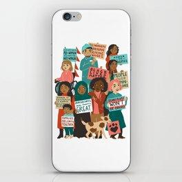 We The People iPhone Skin