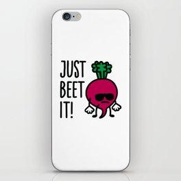 Just beet it! iPhone Skin