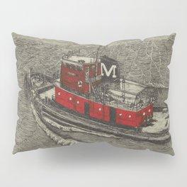 Morgan Tugboat, Hudson river, New York Pillow Sham