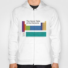 The Heroic Table of the Elements Hoody