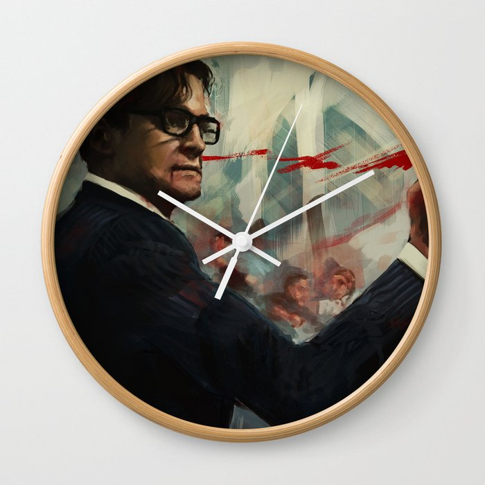 Forgive me Father for I have Sinned  / Kingsman Wall Clock