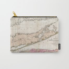 Long and Staten Island Map Carry-All Pouch