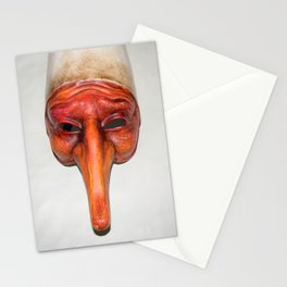 Mask quirky Stationery Cards