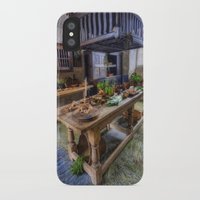 kitchen iPhone & iPod Cases featuring Olde Kitchen by Ian Mitchell