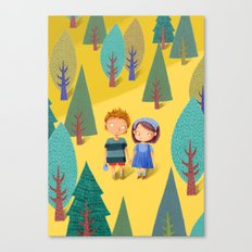 Hansel & Gretel Canvas Print