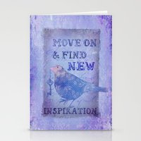 motivation Stationery Cards featuring Motivation by LebensART