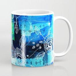 Blooms + Crosses Coffee Mug