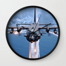 Lockheed AC-130 Wall Clock