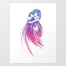 Frozen Fantasy 3 Art Print