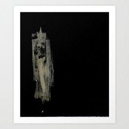 Single Woman Art Print