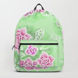 Design 151 Purple Flowers Backpack