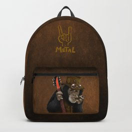 Rockers of the apes Backpack