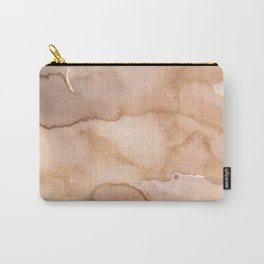 Beige effects Carry-All Pouch