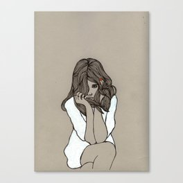 I'm so bored with everything Canvas Print