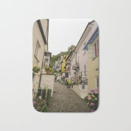 CLOVELLY MAIN STREET NORTH DEVON Bath Mat