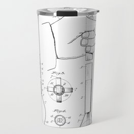 Design for Picking up Golf Balls - 1928 Travel Mug