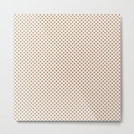 Butterum Polka Dots Metal Print