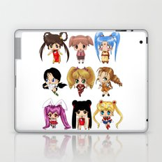 Anime Pigtails Laptop & iPad Skin