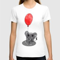 ballon T-shirts featuring Look At My Ballon by Alexandra Sutherland