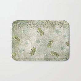 Sage Green Wallflowers Bath Mat