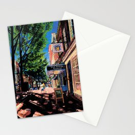 Lovers, C-ville, VA Stationery Cards