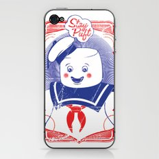 STAY PUFFT iPhone & iPod Skin