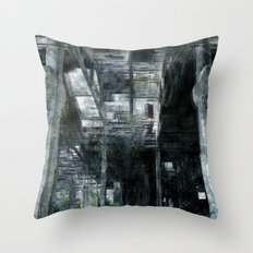 Factory 4 Throw Pillow